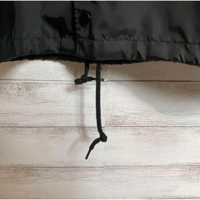 XLARGE(エクストララージ)の【大人気】エクストララージ デカロゴ ブラック ナイロン コーチジャケット メンズのジャケット/アウター(ナイロンジャケット)の商品写真