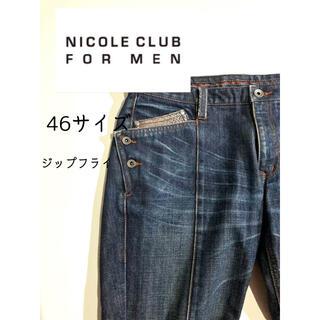 ニコルクラブフォーメン(NICOLE CLUB FOR MEN)のニコルクラブフォーメン メンズ ジーンズ ジップフライ NO.364(デニム/ジーンズ)