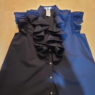 ダブルスタンダードクロージング(DOUBLE STANDARD CLOTHING)のダブルスタンダードクロージング♥️新品今季春夏フリルブラウス(シャツ/ブラウス(半袖/袖なし))