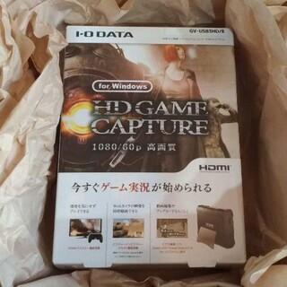 アイオーデータ(IODATA)のゲームキャプチャー GV-USB3HD/E Switch PS4 PS5 配信に(PC周辺機器)
