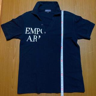 エンポリオアルマーニ(Emporio Armani)のエンポリオアルマーニ 切り返し斜めデザインポロシャツ サイズS(ポロシャツ)