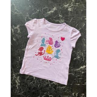 ディズニー(Disney)のプリンセス Tシャツ 半袖 ベルメゾン(Tシャツ/カットソー)