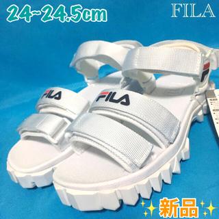 フィラ(FILA)の【FILA】YAK SANDAL【ホワイト】(サンダル)