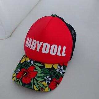 ベビードール(BABYDOLL)のBABYDOLL  キャップ 帽子(帽子)