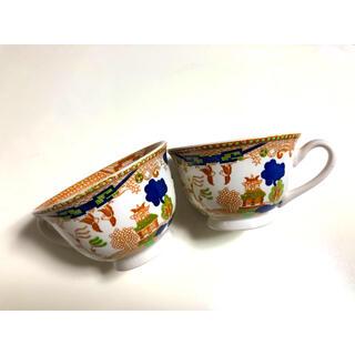 ニッコー(NIKKO)のニッコー ダブルフェニックス 錦山水カップ2個 昭和レトロ ビンテージ品(食器)