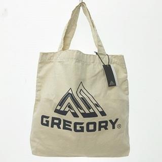 Gregory - グレゴリー コットン キャンバス トート バッグ ショルダー ブルーロゴ