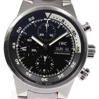 インターナショナルウォッチカンパニー(IWC)のIWC アクアタイマー IW371928 メンズ 【中古】(腕時計(アナログ))
