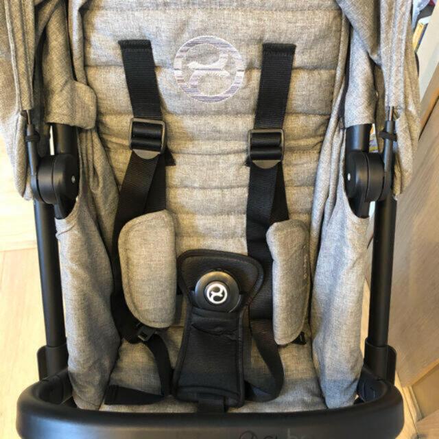 cybex(サイベックス)のサイベックス easy S twist キッズ/ベビー/マタニティの外出/移動用品(ベビーカー/バギー)の商品写真