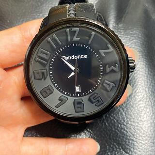 テンデンス(Tendence)のtendence 腕時計 黒(腕時計(アナログ))