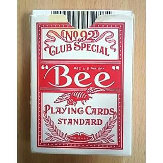 Bee ビー [ポーカーサイズ] No.92 Club Special レッド(トランプ/UNO)