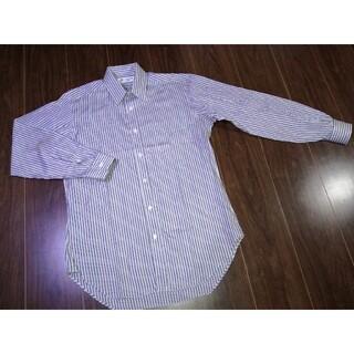 ランバン(LANVIN)の新品/高級/LANVIN/PARIS/ランバン/ストライプ/シャツ/ドレスシャツ(シャツ)