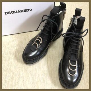 ディースクエアード(DSQUARED2)の◇新品◆DSQUARED2 リングブーツ Lace-Up Ankle Boots(ブーツ)