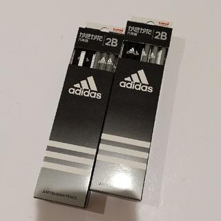 アディダス(adidas)の【匿名配送】アディダス adidas かきかた えんぴつ 鉛筆 2B 2ダース(鉛筆)