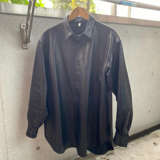 コモリ(COMOLI)のCCU レザーシャツ WAGAMAMA別注 20aw(レザージャケット)