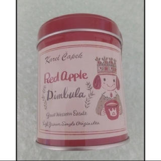 カレルチャペック 紅茶 ディンブラ缶  アップルティー(茶)