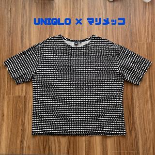 マリメッコ(marimekko)のユニクロ マリメッコ コラボ Tシャツ 海外限定 L(Tシャツ(半袖/袖なし))