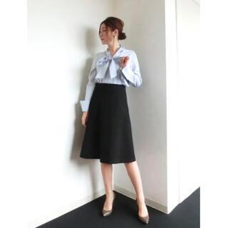 スタイルデリ(STYLE DELI)のstyle deli【LUXE】SPポンチAラインスカート(ひざ丈スカート)