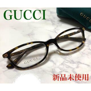 Gucci - ✴︎新品✴︎ 正規品 GUCCI メガネ スクエア べっ甲柄 ジャパンフィット