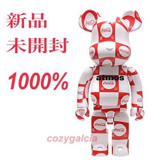 アトモス(atmos)のBE@RBRICK atmos × Coca-Cola 1000% 東京 未開封(その他)