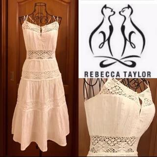 Rebecca Taylor - 新品❤︎レベッカテイラー❤︎綿レースワンピース