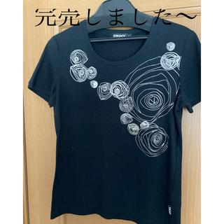 ダナキャランニューヨーク(DKNY)のDKNY ブラックTシャツ(Tシャツ(半袖/袖なし))
