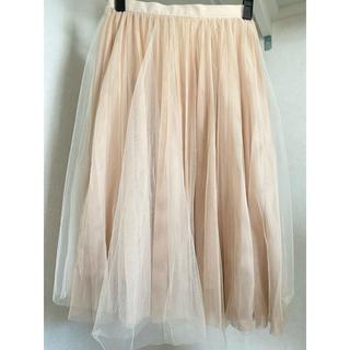 リリーブラウン(Lily Brown)のLily Brown  チュールスカート(ひざ丈スカート)