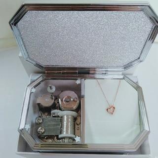 カナルヨンドシー(canal4℃)のcanal4℃K10 ダイヤモンドハートネックレス(ネックレス)