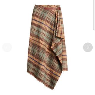 ポロラルフローレン(POLO RALPH LAUREN)のポロラルフローレン  ラルフローレン  ラップスカート  新品 2020aw(ロングスカート)