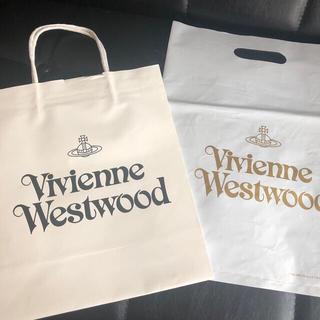 ヴィヴィアンウエストウッド(Vivienne Westwood)のヴィヴィアンウエストウッド ショップ袋2枚(ショップ袋)