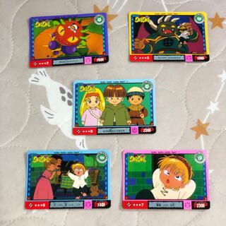 タカラトミー(Takara Tomy)の魔界陣グルグルカード*1994年タカラ「グルグルジャンケン」5枚(カード)