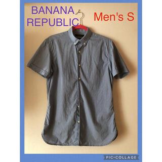 バナナリパブリック(Banana Republic)のBANANA REPUBLIC メンズ半袖シャツ(シャツ)