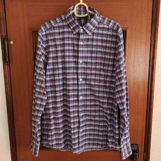 スーツカンパニー(THE SUIT COMPANY)のザ スーツカンパニー ユニバーサルランゲージ タータンチェック柄シャツ メンズL(シャツ)