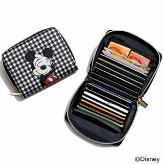 ミッキーマウス(ミッキーマウス)のSweet 付録 SHIPS ミッキーマウス デザインのじゃばらカードケース(財布)