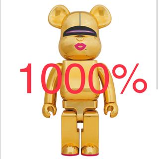 メディコムトイ(MEDICOM TOY)のBE@RBRICK SORAYAMA 2G GOLD Ver. 1000%(その他)