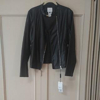 ダブルスタンダードクロージング(DOUBLE STANDARD CLOTHING)の売約済み🍀フェイクレザージャケット(レザージャケット)