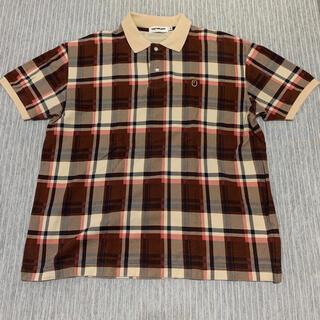 アベイシングエイプ(A BATHING APE)の【希少】A BATHING APE® ラブジェネBAPEチェックポロシャツ XL(ポロシャツ)