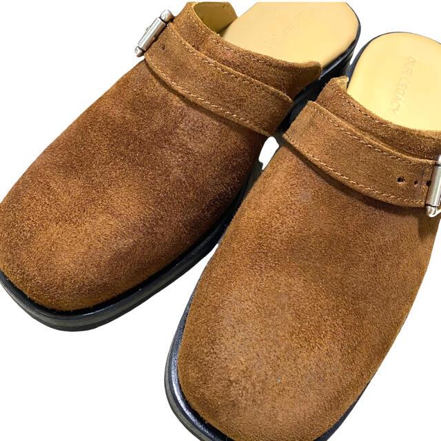 Jil Sander(ジルサンダー)の【our legacy アワーレガシー】カミオン ミュール レザーサンダル メンズの靴/シューズ(サンダル)の商品写真