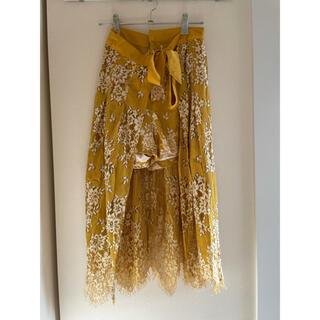 リリーブラウン(Lily Brown)の○期間限定、値下げしました‼️【LILY BROWN】スカート(ひざ丈スカート)