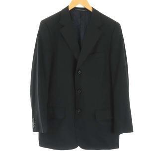 グッチ(Gucci)のグッチ ウール モヘア テーラードジャケット シングル 3B 48 M 黒(テーラードジャケット)
