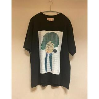 マルニ(Marni)のPLAN C Tシャツ ブラック(Tシャツ(半袖/袖なし))