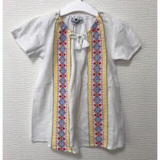 ドンキージョシー(Donkey Jossy)の未使用・タグ付 Donkey Jossy チュニック エスニック風★110(Tシャツ/カットソー)
