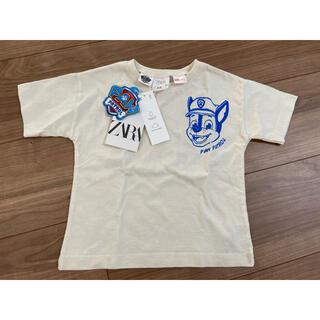 ZARA - ★新品タグ付★ ZARA パウパト 半袖 80