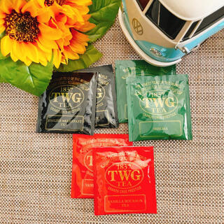 TWG 高級紅茶 6個(茶)