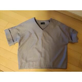 スコットクラブ(SCOT CLUB)のGRANDTABLEVネックブラウスシャツ(シャツ/ブラウス(半袖/袖なし))