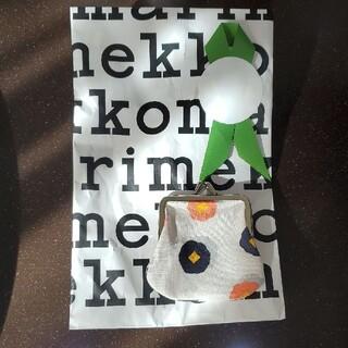 マリメッコ(marimekko)のmarimekko がま口財布(財布)