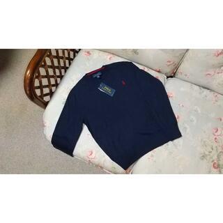 ラルフローレン(Ralph Lauren)の新品☆ラルフローレン 薄手 セーター 紺 140(ニット)