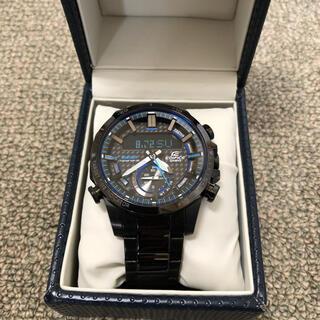 エディフィス(EDIFICE)のカシオ エディフィス・アナデジ・Bluetooth ECB-800DC-1AJF(腕時計(アナログ))