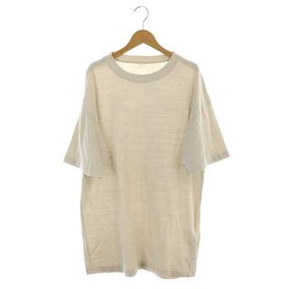 ドゥーズィエムクラス(DEUXIEME CLASSE)のドゥーズィエムクラス Tシャツ カットソー 半袖 ロング ダメージ加工(その他)