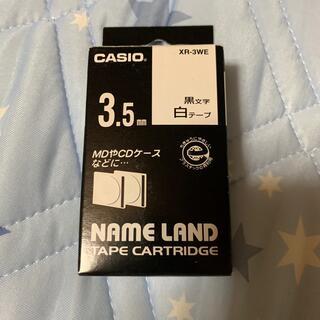 カシオ(CASIO)のXR-3WE(テープ/マスキングテープ)