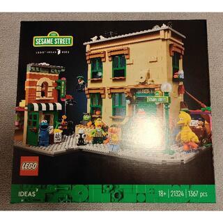 レゴ(Lego)のレゴ(LEGO) アイデア セサミストリート 123番地 21324(模型/プラモデル)